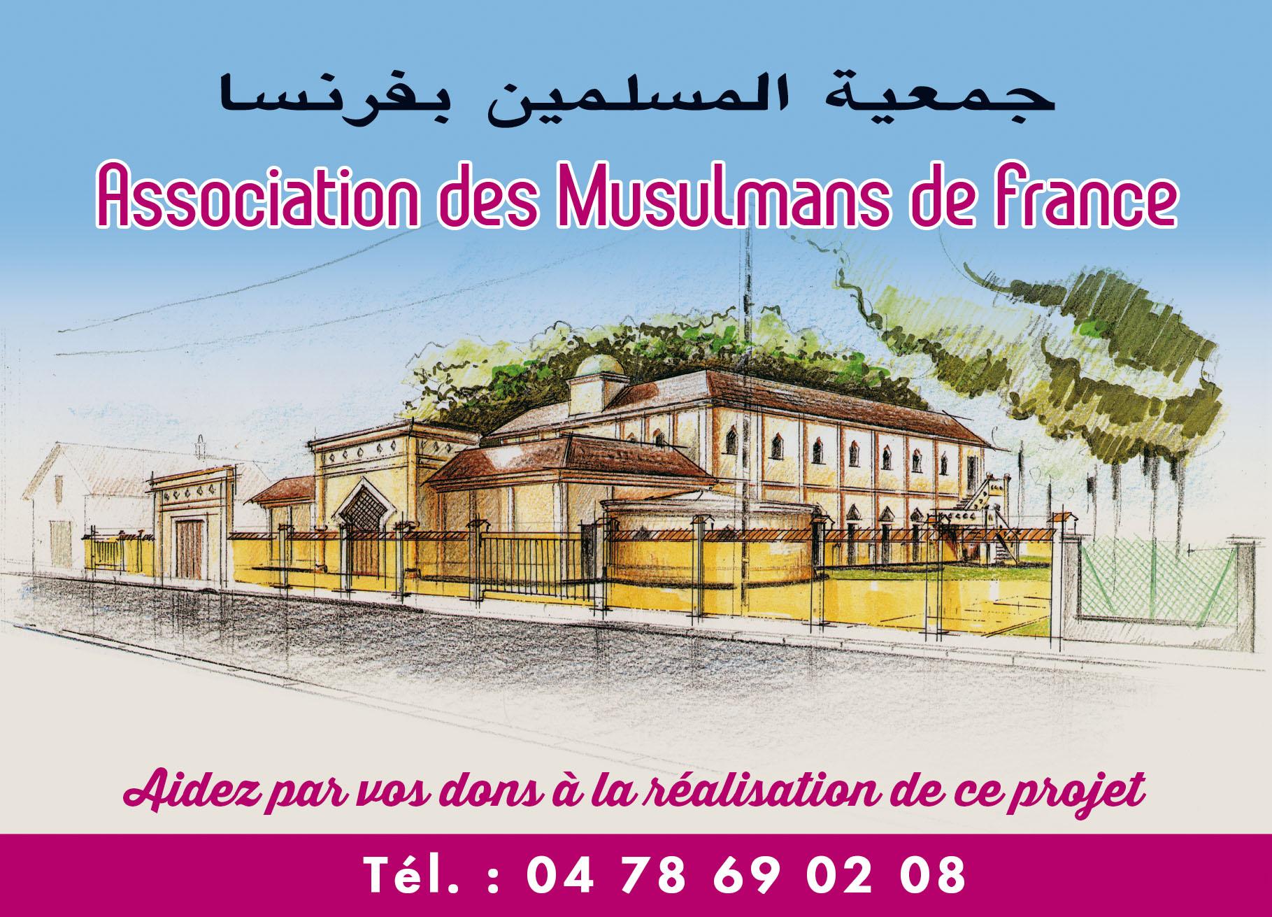carte postale mosquée