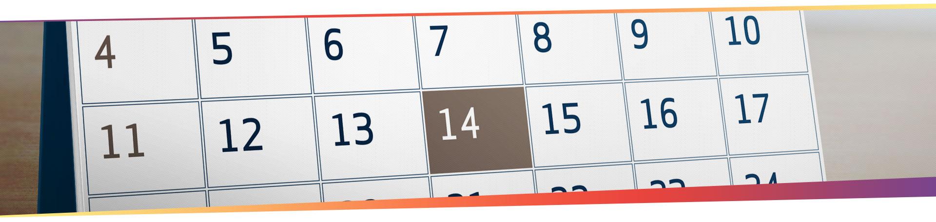 nos calendriers français