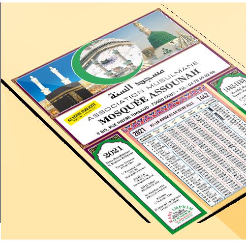 Imprimeur calendriers Islamiques